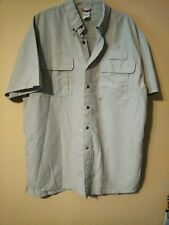 Vf Solutions Vented Shirt Boy Beige Scouts Of America Bsa Sz-Xl