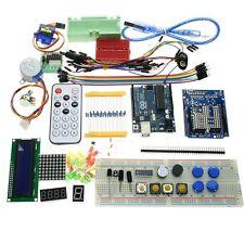 UNO R3 Starter Kit 1602 LCD Dot Matrix Breadboard LED Resistor for Arduino