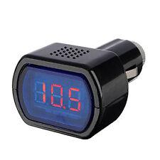 ET 12-24V LED Zigarettenanzuender KFZ Batterie Tester Spannungsanzeige Voltmeter