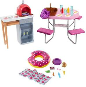 Barbie Outdoor Furniture Accessories Playsets