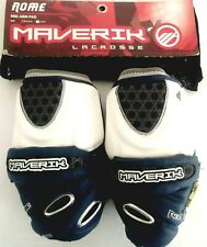 New Maverik Rome Lacrosse Mid Arm Pads Medium-Navy