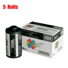 5 Rolls VIBE 400 35mm ISO400 135-36  B&W Negtive Film Fresh 2024 Made in EU