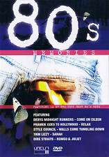 "80's MEMORIES ""Featuring 12 Of The Very Best 80's Hits"" DVD NEU & OVP"