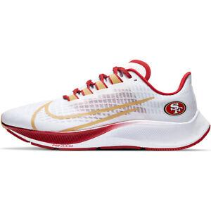 New 2020 San Francisco 49ers Nike Unisex Zoom Pegasus 37 Running Training Shoes