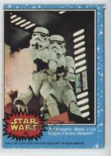 1977 O-Pee-Chee Star Wars #42 Stormtroopers Attack! Non-Sports Card 0e3