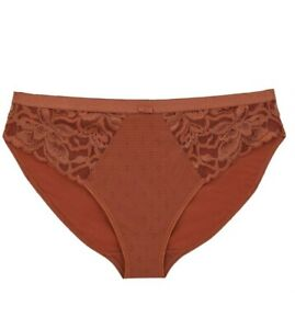 MARKS AND SPENCER SIENNA Wild Blooms Lace High Leg Knickers SIZE 26 BNWT