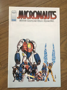 MICRONAUTS 2002 CONVENTION SPECIAL VF IMAGES COMICS