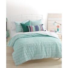 martha stewart whim on the dot chenille seafoam 3pc f queen comforter set - Martha Stewart Bedding