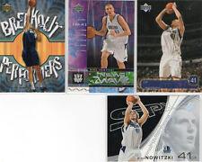 Dirk Nowitzki 4 Card Lot! Upper Deck/SPX!