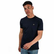 Men's True Religion Metal Horseshoe Logo Regular Fit Cotton T-Shirt in Blue