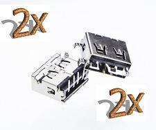 Lenovo IdeaPad Y430 Y400 USB Jack port buchse connector Interface buchse 2x pcs