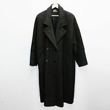Vtg A.Sachs for Perlette (About XL) Ladies Long Overcoat Winter Dress Coat Wool