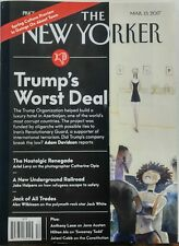The New Yorker Mar 13 2017 Donald Trump's Worst Deal President FREE SHIPPING sb