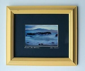 Framed Photographic Print Mount Gulaga Or Mount Dromendary From Bermagui NSW