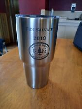 Yeti Rambler 30 oz Tumbler Nwt Stainless Usfs Fire Salvage 2018 North Engraved