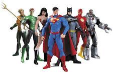 7 Pcs Set Justice League Action Figures DC Universe Super Hero Dolls Toys No Box
