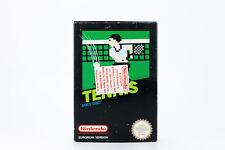 NINTENDO NES TENNIS SPORTS VIDEO GAME 1985 VINTAGE RARE EUROPEAN PAL VERSION