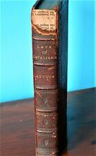 1861 ANTIQUE BRITISH BOOK *LAYS OF THE SCOTTISH CAVALIERS*