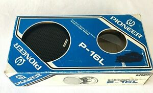"""Vintage Old School Pioneer 6.5"""" Flush Mount Speakers For Car Stereo P-16L Preown"""