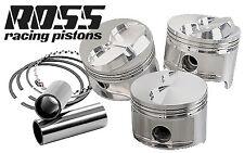 6 X ROSS RACING ENGINE PISTON & RINGS -NISSAN SKYLINE R33 R34 RB25 RB25DET 93-02