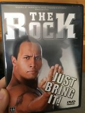 WWF WWE The Rock Just Bring It region 1 DVD (wrestling) Dwayne Johnson