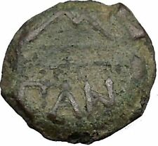 PANTIKAPAION in TAURIC CHERSONESOS 304BC Satyr Pan Bow Arrow Greek Coin i38349