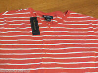 Men's Polo Ralph Lauren T shirt v neck logo soft M NEW 0480942 VNJSY1 shrimp