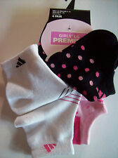Adidas Socks 4 pr Premier Athletic Performance Training sz Large 9-11 NIP