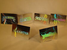"""Mega Metal, 1991 - """"Holograms"""" - """"Chase Cards"""" - """"$2.95 - Each Card Purchased."""""""