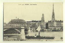 su308 - Tug Mascaret in Rouen Harbour , France - postcard