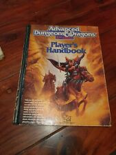 AD&D 2nd Edition Player's Handbook 1989  TSR 2101 Advanced Dungeons & Dragons