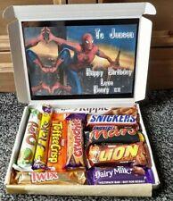 SPIDERMAN Personalised Happy Birthday Chocolate Selection Box Gift Hamper