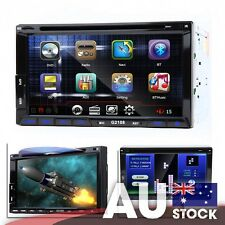 2 DIN 6.95 Inch Digital Touch Screen DVD GPS Navigator w/ Steering Wheel Control