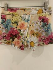 FLORAL SKORT RIVER ISLAND 11YRS BEACH HOLIDAY KIDS SUN CASUAL PRETTY SUMMER FIT