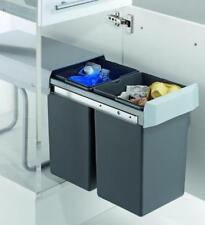 Wesco Double Boy 30DT Einbau Abfalleimer 2 x 15 Liter Mülleimer Abfallsammler