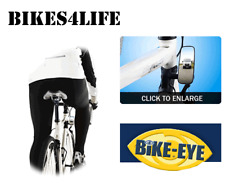 Bike Eye MRXL Rear View Mirror Wide Size Compatible for Most Bicycle Frames