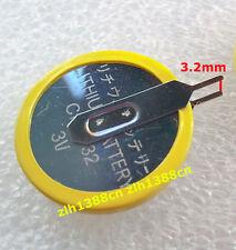 d192fe826 1 PC X nuevo 3V CR2032 Pila botón con fichas con 2 pestañas de soldadura  simétrica