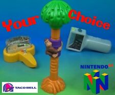 Taco Bell 1997 NINTENDO Super Mario N64 VIDEO GAME Donkey Kong YOUR Toy CHOICE