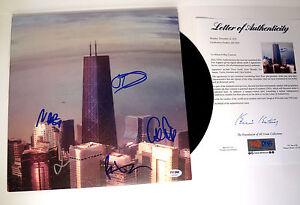 Foo Fighters Complete Band Signed Sonic Highways Vinyl Record Album PSA/DNA COA