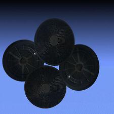 4 Aktivkohlefilter für Dunstabzugshaube Respekta CH 9040-90 SN, CH 0111 IX