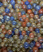 CONFETTI MARBLES LOT OF 40 Great for crafts! FREE SHIPPING