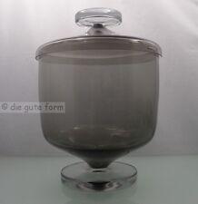 ACHTUNG DESIGN !! 60er jahre KULT - BOWLE in RAUCHGLAS + 6 Gläser - ANSEHEN !!