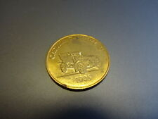 1905 Cadillac Model D Franklin Mint Antique Car Bronze Coin
