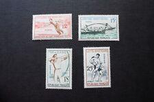 1965 série Jeux traditionnels 1161 à 1164 neufs**