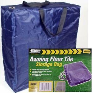 Maypole Awning Tile Floor Mat Carpet Storage Bag Caravan Motorhome Tent