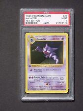Pokemon PSA 9 1ST EDITION HAUNTER 29/102 - Base Set Shadowless - MINT