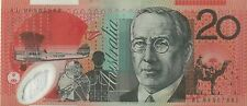 Australian $20 Dollar Polymer Bank Note Uncirculated UNC Valid Currency