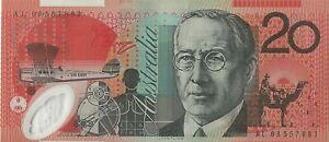 Australia $20 Dollar Polymer Bank Note Circulated Valid Currency Australian