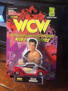 1998 NEW WWE/WCW 1/64th SCALE DIE-CAST NITRO-STREETROD- ALEX WRIGHT [MOC]