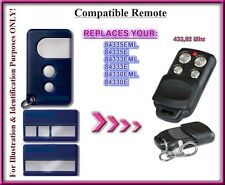 Chamberlain 84330EML, 84333EML, 84335EML Compatible Remote control replacement